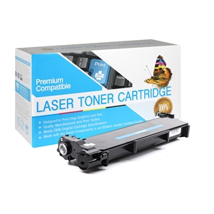 TN660 Brother Compatible TN-660 Black Toner Cartridge, Item # CBTN660