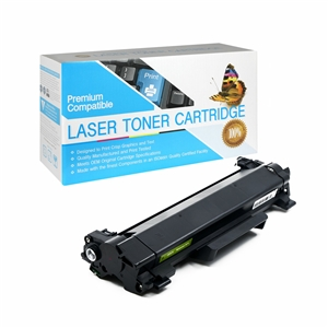 TN770 Brother Compatible TN-770 Super High Yield Black Toner Cartridge, Item # CBTN770