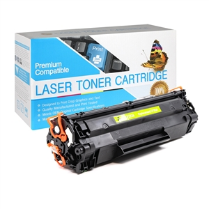 83A  HP Compatible 83A (CF283A) Black Toner Cartridge, Item # PTCF283A