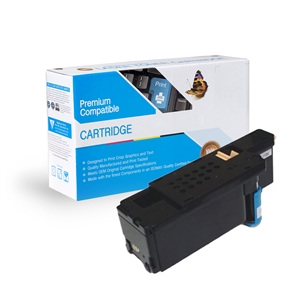 Dell E525w Compatible 593-BBJU, H5WFX, VR3NV Cyan Toner Cartridge, Item # CDE525C