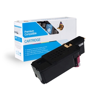 Dell E525w Compatible 593-BBJV, G20VW, WN8M9 Magenta Toner Cartridge, Item # CDE525M
